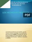 Aplicaciones de la Piscologia al estudio de los hechos economicos