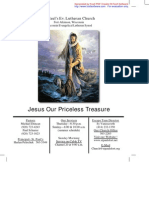 Jul 18 2010 Church Bulletin, Saint Paul's Evangelical Lutheran Church
