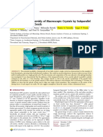 Crystallographic Assembly of Macroscopic Crystals by Subparallel  Splicing of Multiple Seeds