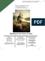 August 8 2010 Church Bulletin, Saint Paul's Evangelical Lutheran Church