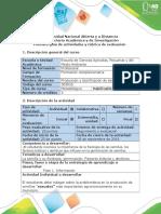 Guia de Actividades y Rubrica de La Evaluación Fase 1 - Información