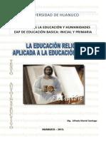 TEXTO  Separa de la metodología de la educación religiosa. nivel Primaria