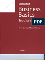 Business Basics Teacher Book OXFORD