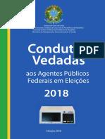Condutas Vedadas aos Agentes Públicos Federais em Eleições 2018.pdf