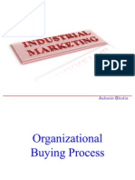 Industrial Marketing  (Buying Process)