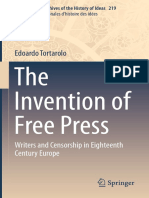 2016 Book TheInventionOfFreePress