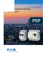 Residual Current Devices - Application Guide