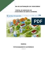Manual do Peticionamento eletronico