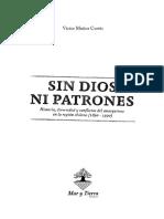 Muñoz Cortés, Victor - Sin dios, ni patrones. Historia, diversidad y conflictos del anarquismo en la región chilena (1890-1990) - [Ed. Mar y Tierra. Valparaiso. ].pdf