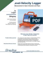 Stingray Grey line Caudal Portátil