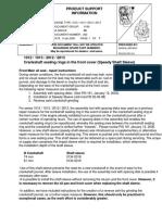 PSI 262_1012-1013-2012-2013 Crankshaft Sealing Rings in Free End Cover
