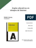 Litwin Tecnologias educativas en tiempos de internet