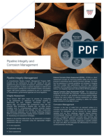 Pipeline Corrosion Management Capability
