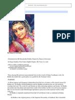Dandavats - Radha's Birth