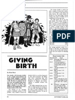 D&D Variant - Giving Birth