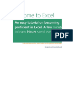 Excel 2016 Data File for Instructional Videos
