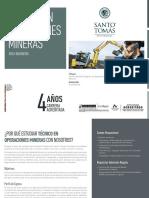 Tecnico en Operaciones Mineras 2018 09022018