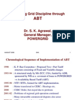 Improving Grid Discipline Through ABT