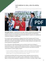 31-08-2018-DIF Estatal y Federal Celebran La Vida y Obra de Adultos Mayores Sonorenses-Tribuna