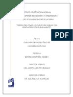 Origen Del CO2 en La Cuenca de Sabinas y Si Asociación Con El Basamento