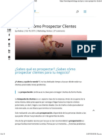 Qué Es y Cómo Prospectar Clientes - Marketing PYME