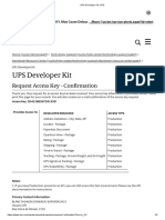 UPS Developer Kit_ UPS