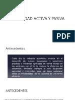 Seguridad Activa y Pasiva