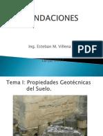 Presentacion Fundaciones I-2017 TEMA I