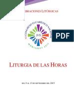 Liturgia de Las Horas CONGRESO EUCARÍSTICO NACIONAL 2015
