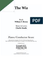 Charlie Smalls - The Wiz [Piano Conductor Score].pdf