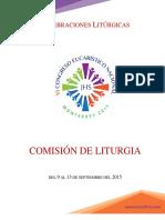Organización Comisión de Liturgia CONGRESO EUCARÍSTICO NACIONAL 2015