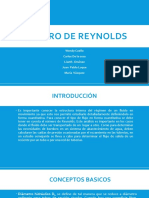 Numero de Reynolds