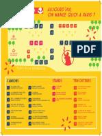 """Premier Festival """"Cuisines de rue"""" à Paris"""