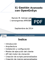 Gestion OpenGnSys