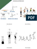Ilustraciones Del Baloncesto
