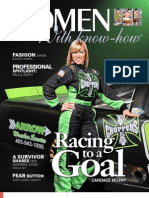 October Issue- Women With Know How E= Magazine Featuring Nascar Driver Candace Munzy