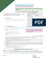 Nios Admission Forms 2018-2019