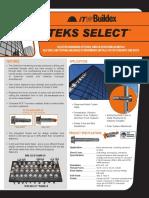 Teks Select Datasheet