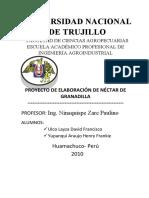 Trabajo de Proyecto de Elaboracion de Nectar de Granadilla5555