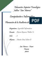 Planeacion de Auditoria Informatica