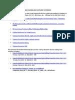 2010-2011 EIP Professional Development Offerings