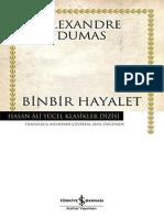 Alexandre Dumas - Binbir Hayalet