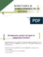 CURSUL 7_PROIECTAREA ŞI DEZVOLTAREA FERMELOR DE BOVINE.ppt