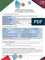 Guía de Actividades y Rúbrica. Task 1-Recognition (1)