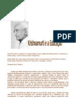 Krishnamurti e a Educação