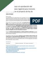 Carta de Apoyo Cambio Registral