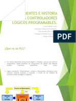 ANTECEDENTES E HISTORIA DE LOS CONTROLADORES LÓGICOS PROGRAMABLES Nuevo.pptx