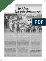 Huelga Petrolera. 1936
