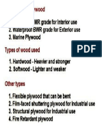 types of flywood pdf
