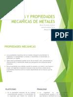 Propiedades mecánicas de metales